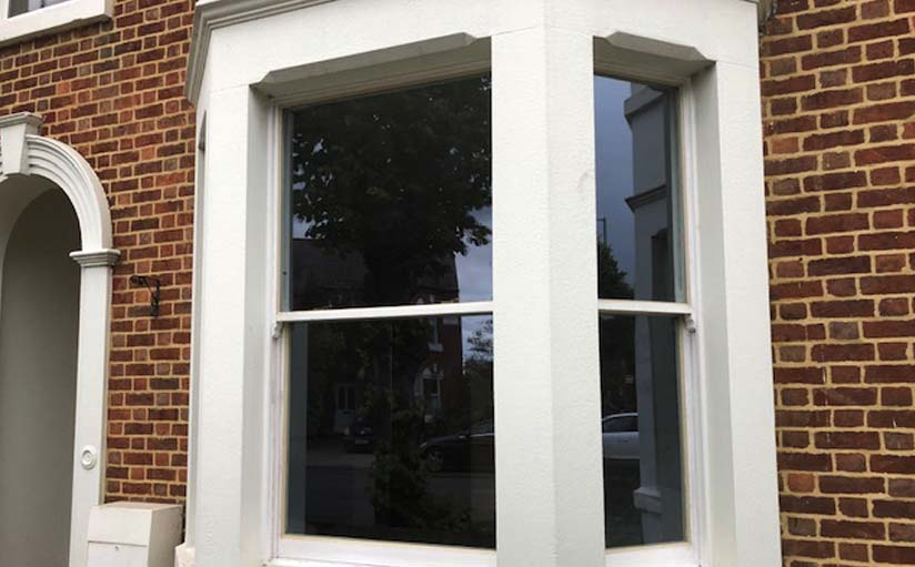 Restored window Victorian