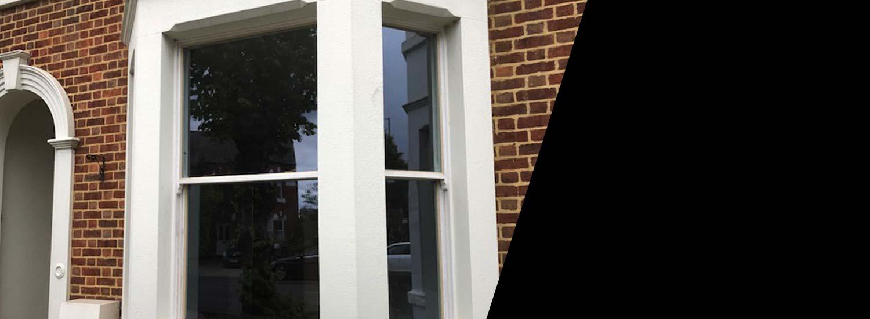 Restored window Victorian